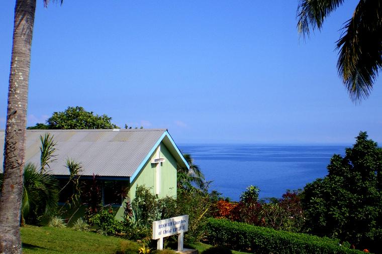 The Chapel at Ranwadi College, Pentecost Island, Vanuatu